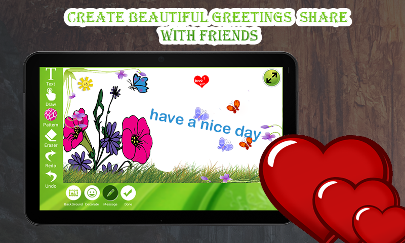 Touch Greetings- screenshot