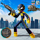 Download Neon Spider Stickman Rope Hero City Gangstar Crime For PC Windows and Mac