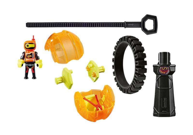 Contenido real de Playmobil® 9203 Speed Roller Naranja