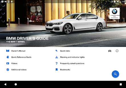 BMW Driver's Guide   Android Apps on Google Play