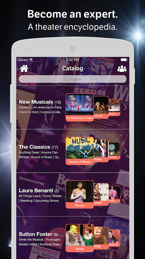 Broadway Amino for Musicals- screenshot