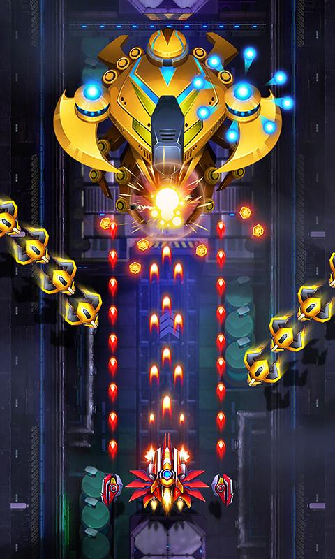 Screenshot 1 Infinity Shooting: Galaxy War 1.8.13 APK MOD