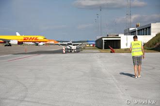 Photo: Anders på vei til NRO på Billund Lufthavn.