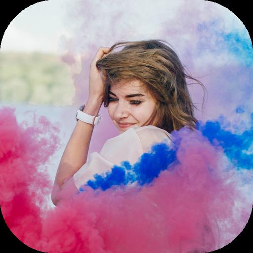 Smoke Effect Photo Maker Icon