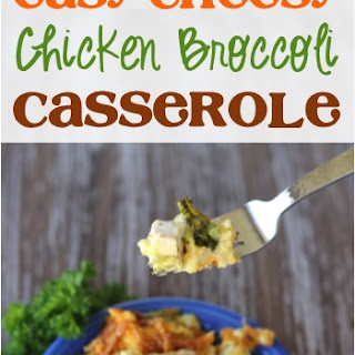 Easy Cheesy Chicken Broccoli Casserole Recipe!