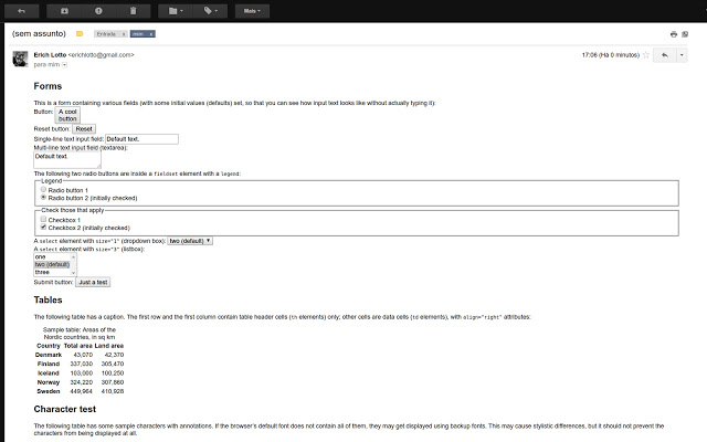 Gmail Append HTML
