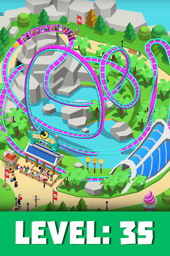 Idle Theme Park Tycoon - Recreation Game 1.26 screenshots 2