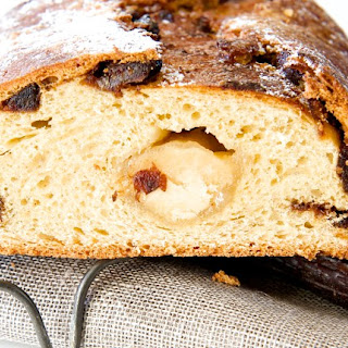 Date, Almond and Clementine Christmas Stollen