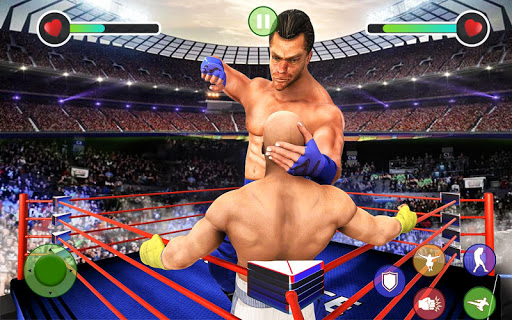 BodyBuilder Ring Fighting Club: Wrestling Games 1.1 screenshots 3