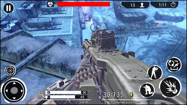 Winter Battlefield Shootout : FPS Shooting Games
