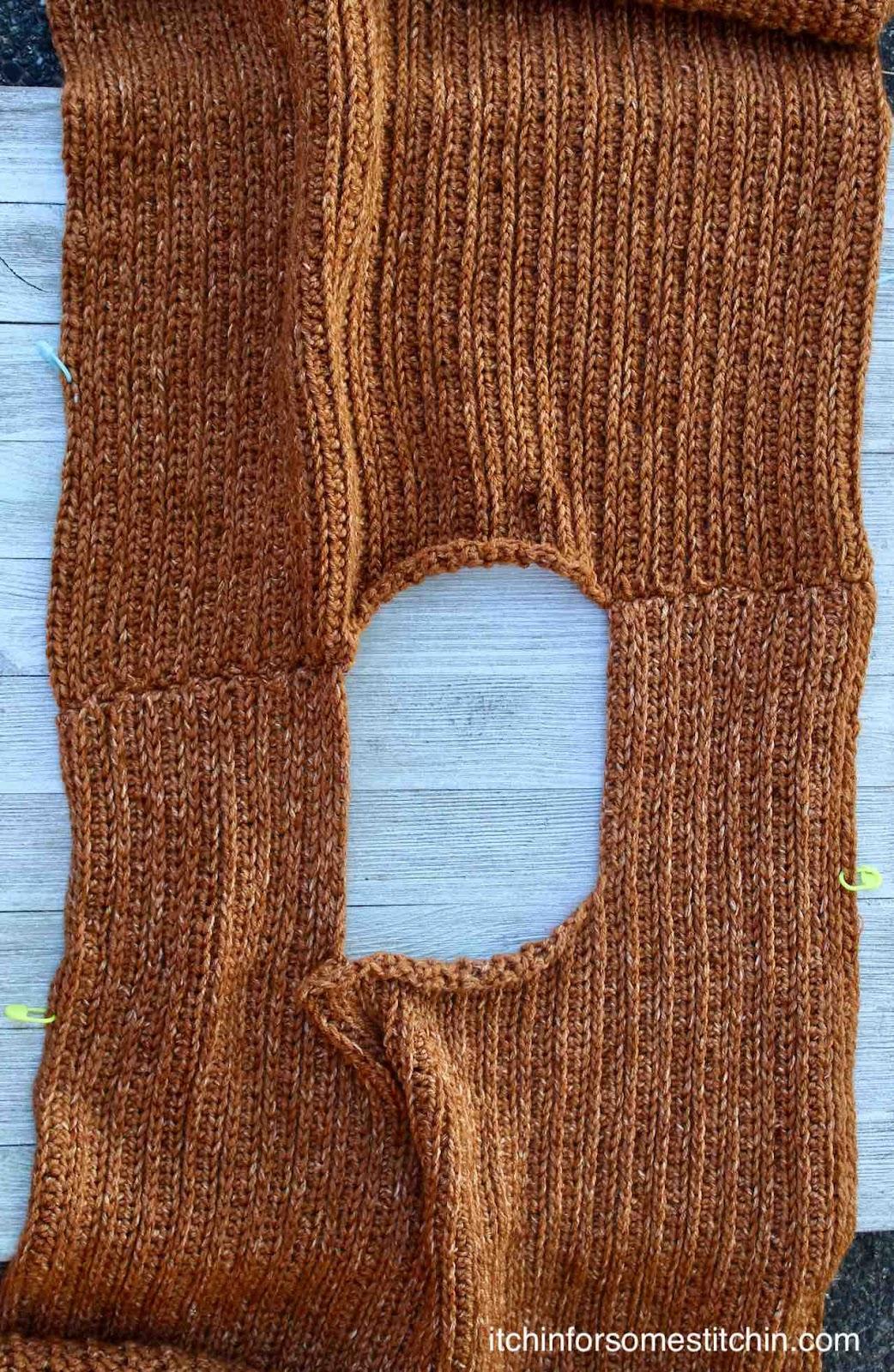 Easy Crochet Sweater Pattern by www.itchinforsomestitchin.com