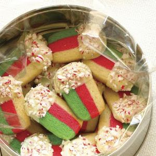 Peppermint Layer Cookies
