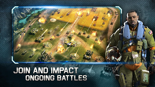 War Planet Online: Real Time Strategy MMO Game  screenshots 4