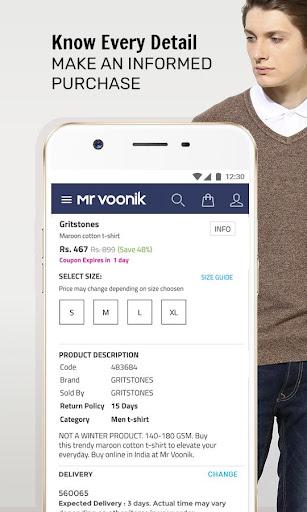 6faf78be830 Mr Voonik - Online Shopping App - Revenue   Download estimates ...