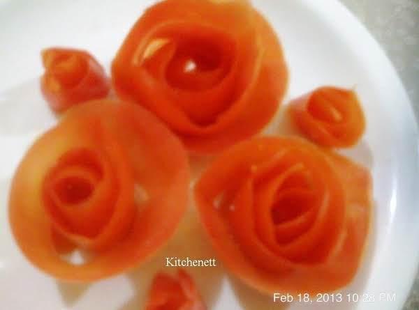 How To Make Tomatoe Flower
