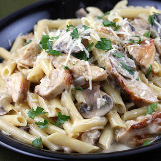 Chicken Marsala Pasta.