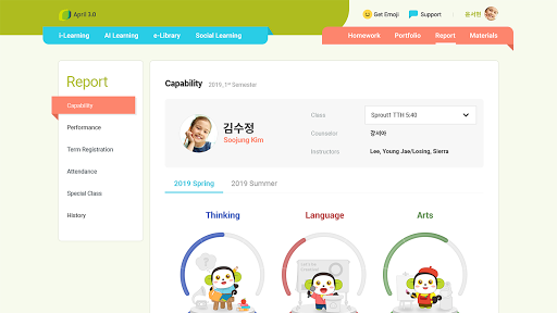 April Learning Portal screenshot 11
