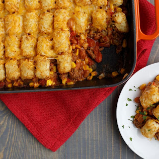 Taco Tater-Topped Casserole.