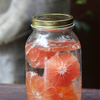 Grapefruit Infused Rum.