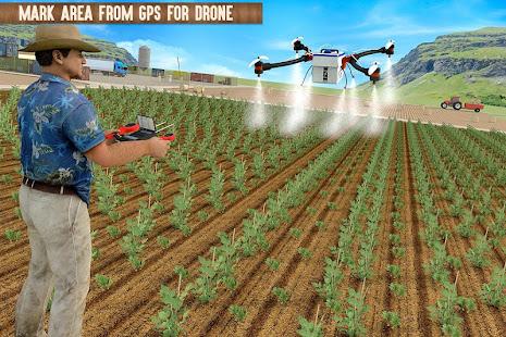 Modern Farming 2020 -- Farming Drone 3D Simulator Mod