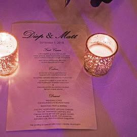 Dinner Menue by Will McNamee - Wedding Reception ( patty_j_ball@hotmail.com; donaldbarber11@msn.com; donaldbarber11@msn.com; d3a1@aol.com;  postholes2002@yahoo.com; )