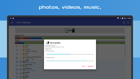 Files to Sd Card 11