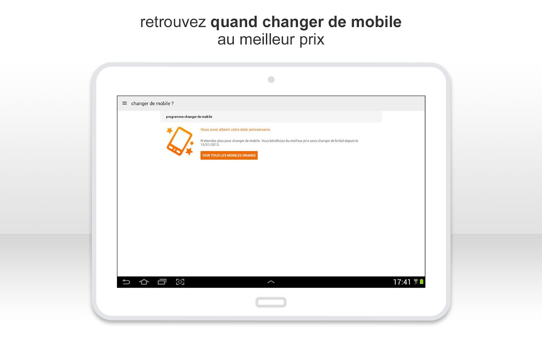 Orange et moi, l'espace client- screenshot