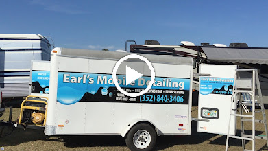 Video: We had our rig washed and waxed by a detailing crew that came by.  They did a great job :).