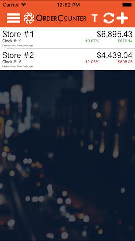 OrderCounter Screenshot