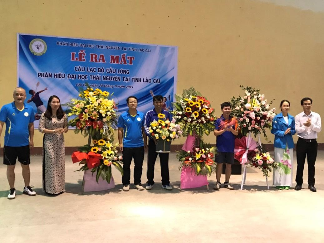 Lễ ra mắt Câu lạc bộ Cầu lông  Phân hiệu Đại học Thái Nguyên tại tỉnh Lào Cai