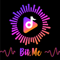 Bit.Me Music Particle.ly Video Status Maker icon