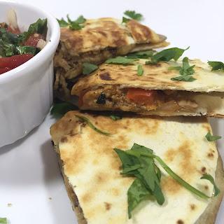 Pork Fajita Quesadillas Recipe