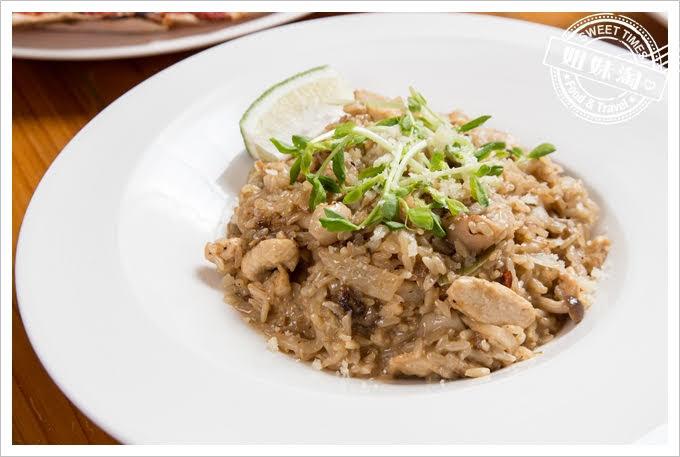 Amy's Cucina阿美披薩店凱牛肝菌百菇雞肉燉飯