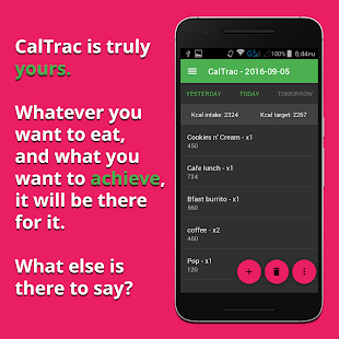 CalTrac - Calorie counter- screenshot thumbnail