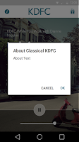 Screenshot of Classical KDFC