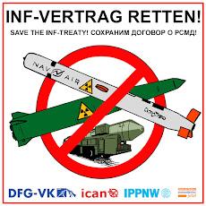 Plakat: INF-Vertrag retten.