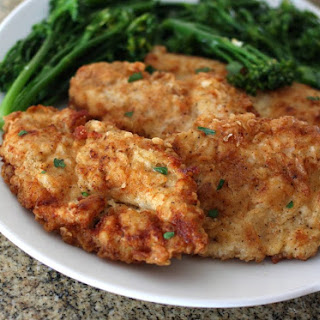 Simple Fried Chicken Breast Cutlets.