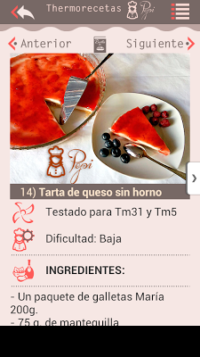 Recetas para Thermomix - screenshot
