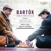 Bartok: Complete Works for Violin Vol. 2