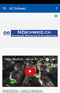 NZ Schweiz- screenshot thumbnail
