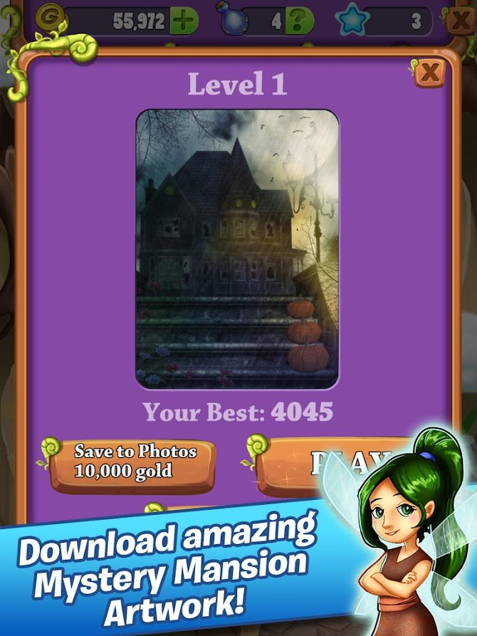 Mahjong Mystery: Escape The Spooky Mansion Android 11