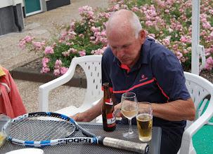 Photo: Karel drinkt bijna nooit! (zegt hij)