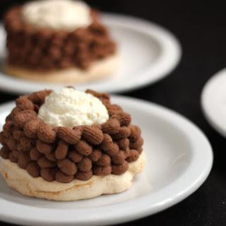 Chocolate Mont Blancs