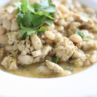 Green Turkey Chili Soup