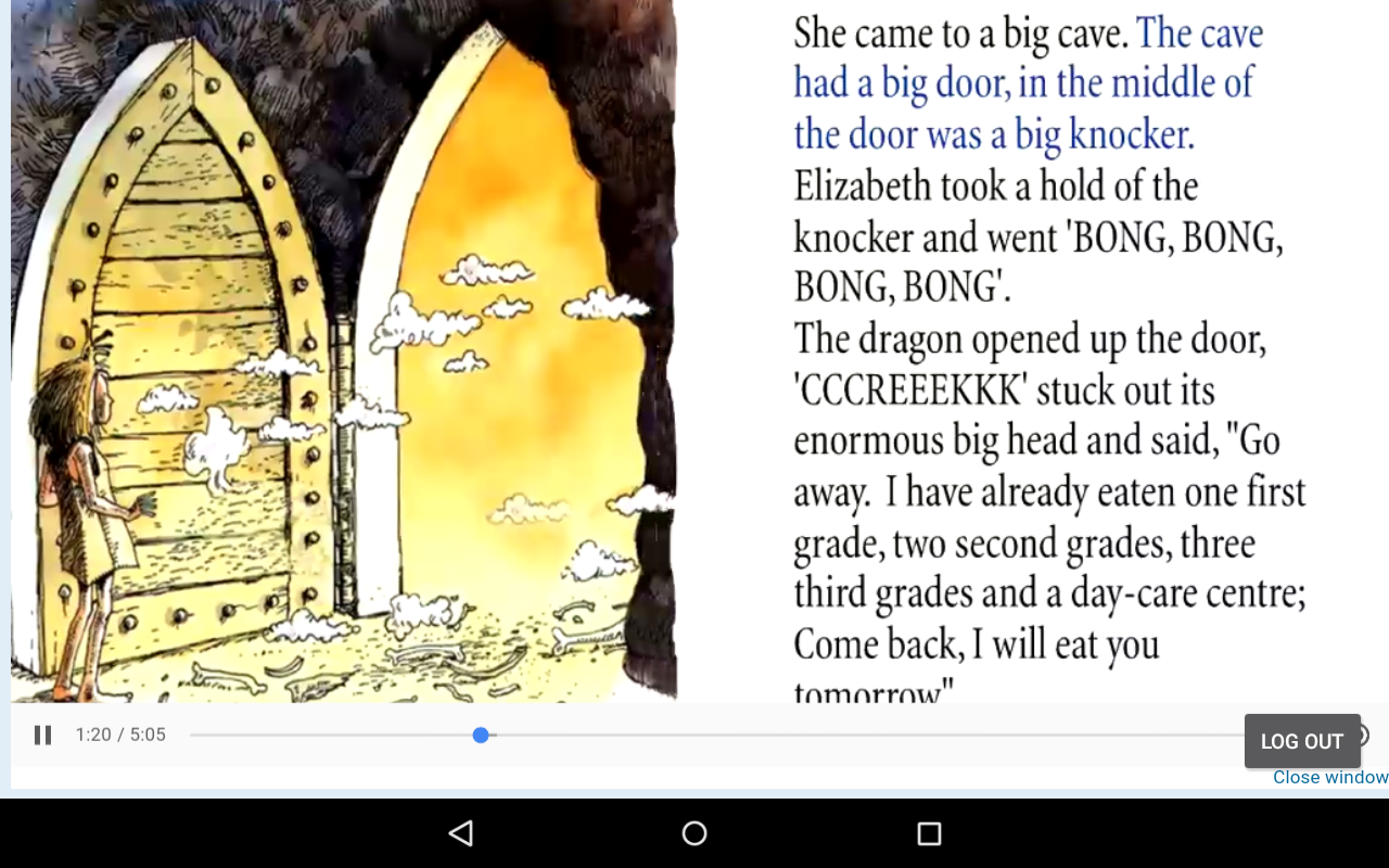Tumblebooks- screenshot