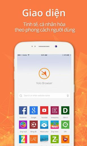 YOLO浏览器 - 高速,安全