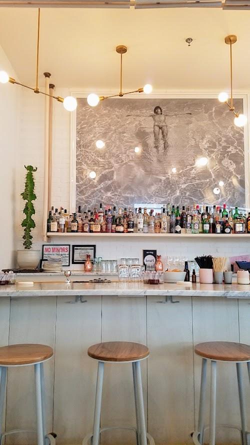 Bar at Tusk in Portland