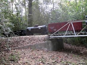 Photo: Train behind ATSF 2099    SWLS at HALS 2009-1107