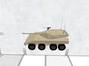16式機動戦闘車 砂漠迷彩