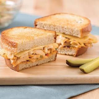 Chicken Reuben Sandwich.